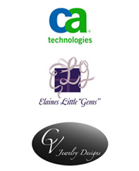 CA Technologies, CV Jewelry Designs, Elaine's Little Gems