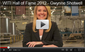WITI Hall of Fame 2012 - Gwynne Shotwell