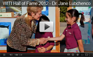 WITI Hall of Fame 2012 - Dr. Jane Lubchenco