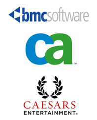 BMC Software, CA, Caesars Entertainment