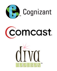 Cognizant, Comcast, Diva Toolbox