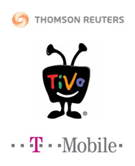 Thomson Reuters, TiVo, T-Mobile