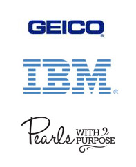 GEICO, IBM, Pearls with Purpose