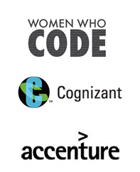 Women Who Code SF, Cognizant, Accenture
