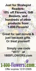 15% off Flowers, Gift Baskets, and hundreds of other products from 1-800-Flowers!