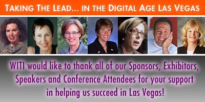 WITI's Las Vegas Conference - THANK YOU!