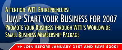 WITI Small Business Membership... Join Before January 31st and SAVE $300!