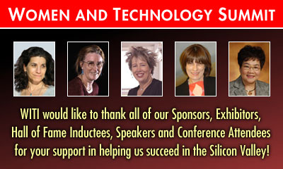 Women and Technology Summit: Women's Leadership - Shaping the Future - THANK YOU!!!