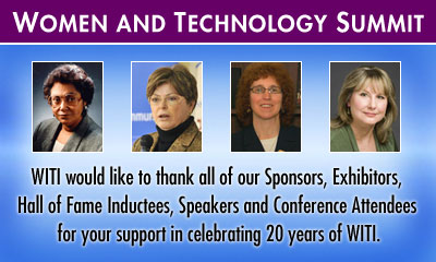 Women and Technology Summit | Thank You!