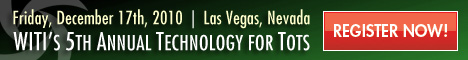 WITI's 5th Annual Technology for Tots Returns to Las Vegas in December!