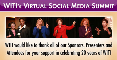 Thank You for Attending WITI's Virtual Social Media Summit!