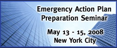 Emergency Action Plan Preperation Seminar
