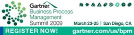 Gartner Business Process Management Summit