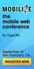 Mobilize - The Mobile Web Conference | September 10 | San Francisco, CA