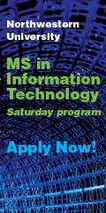 Northwestern University | MS in Information Technology - Saturday Program | Apply Now!