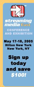 Streaming Media East, May 17-18, New York Hilton