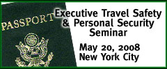 Executive Travel Safety & Personal Security Seminar